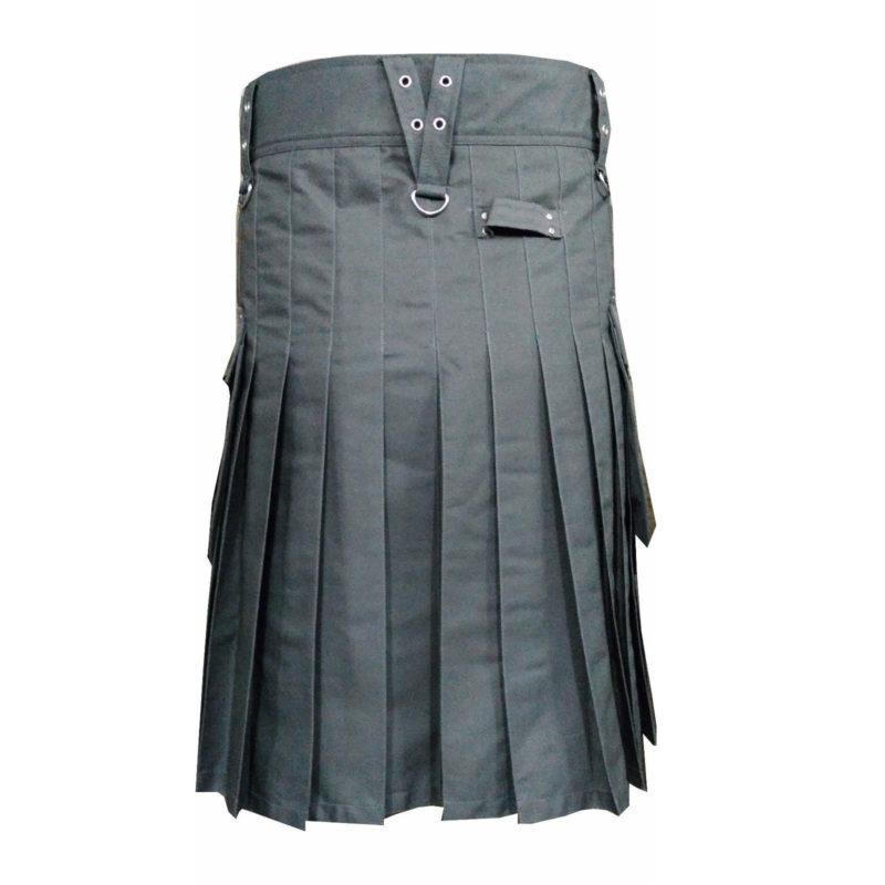 grey utility kilt, grey kilt, utility kilt, kilt for sale, utility kilt for men, grey kilt for sale, grey kilt for men