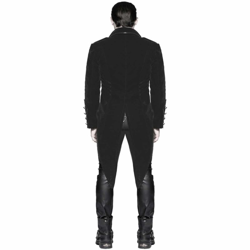 Punk Rave, devil Fashion, Steampunk Vampire Swallowtail, Gothic Jackets for Men, buy gothic jacket, steampunk jacket for sale, gothic jacket for sale, goth jacket for sale, buy goth jackets, buy steampunk jackets