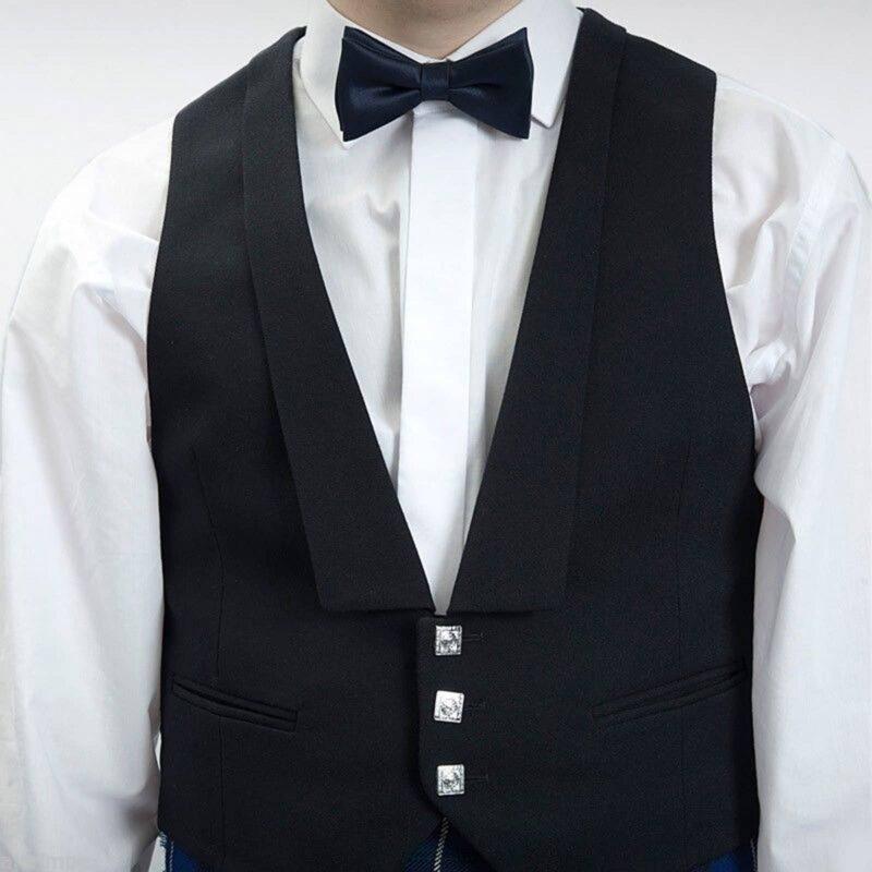 Prince Charlie vest, Vest, Black vest, Scottish Vest, Scottish wedding vest, Vest for sale, buy vest, buy black vest